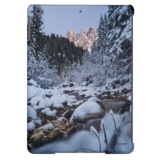 Snow-covered Geisler Mountain Range iPad Air Case
