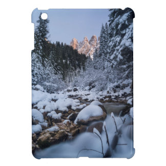 Snow-covered Geisler Mountain Range Cover For The iPad Mini