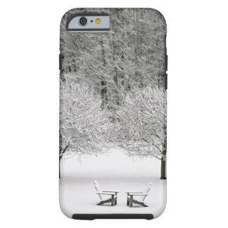Snow covered landscape tough iPhone 6 case