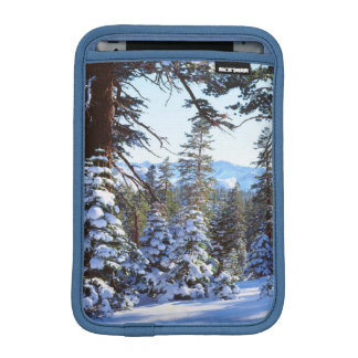 Snow-covered Red Fir trees in the High Sierra 2 iPad Mini Sleeve