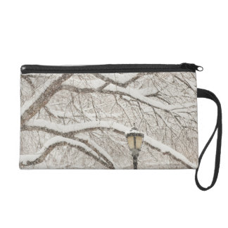Snow Covered Tree 2 Wristlet