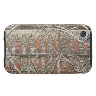 Snow Covered Tree Tough iPhone 3 Cover
