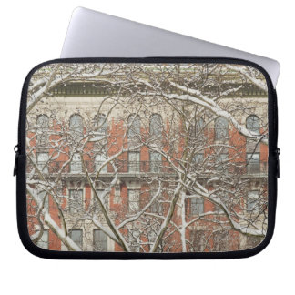 Snow Covered Tree Laptop Sleeve