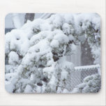 Snow Covered Tree Mousepad