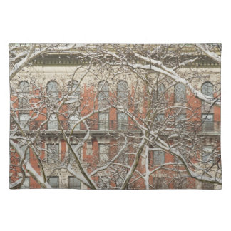 Snow Covered Tree Placemat