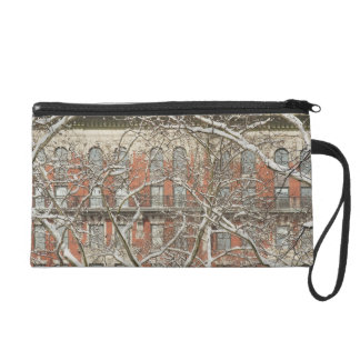 Snow Covered Tree Wristlet