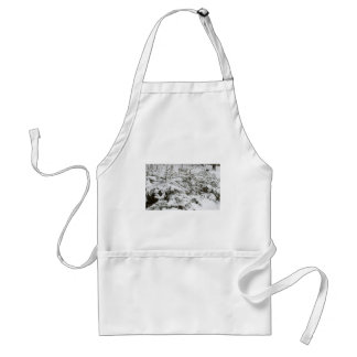 Snow Covered Trees Apron