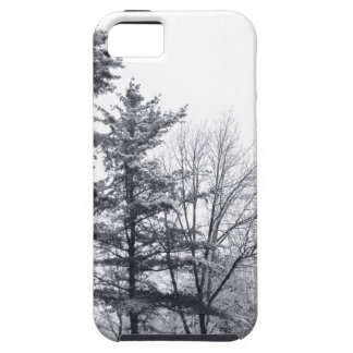 Snow-covered Trees: Vertical Tough iPhone 5 Case