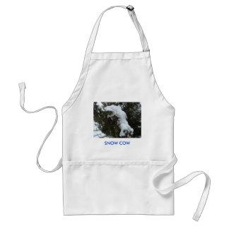 SNOW COW STANDARD APRON