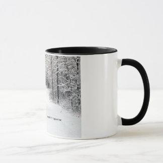 Snow-Crusted Path Mug
