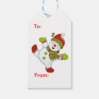 Snow Dancing 1 Gift Tags