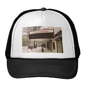 Snow Day At The Cinema Mesh Hat