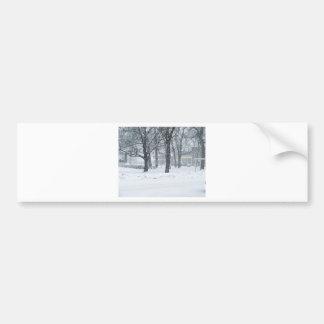 Snow day in Kahoka Mo. Bumper Sticker