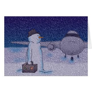 Snow Delay Card