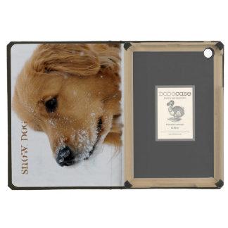 Snow Dog Golden Retriever iPad Mini Retina Cover
