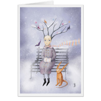 Snow Dreaming Card