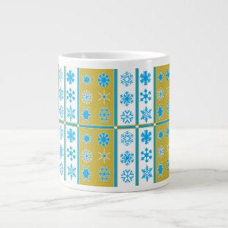 Snow Drop Blue Fawn Christmas Mug Jumbo Mug