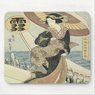 Snow Eizan 1830s Mousepad
