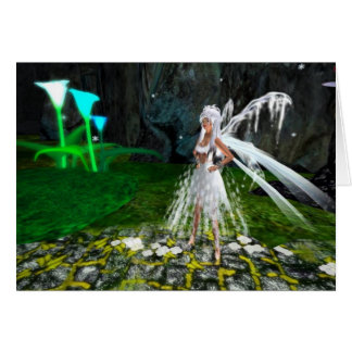 Snow Fairy Greeting Card