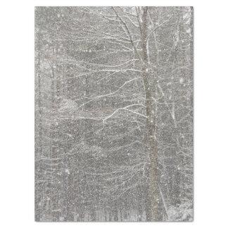 Snow Falling Tissue Paper