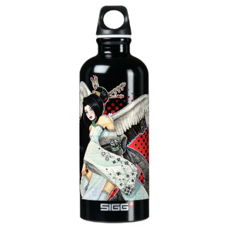 Snow & Feathers Geisha SIGG Traveller 0.6L Water Bottle