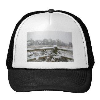 Snow Fence Trucker Hat