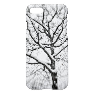 Snow Filled Tree iPhone 7 Case