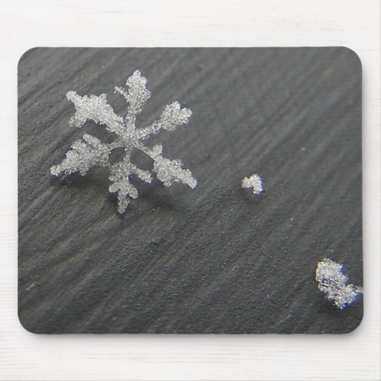 Snow Flake 44 ~ mousepad