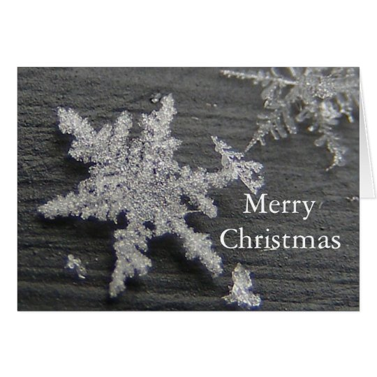 Snow Flake 45 Christmas ~ card
