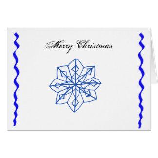 Snow Flake Card
