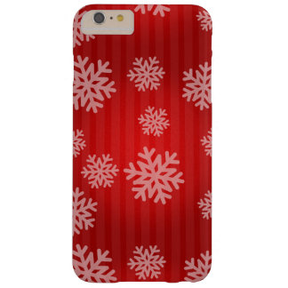 Snow flake case barely there iPhone 6 plus case