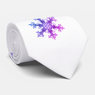 Snow flake - Let it Snow Tie