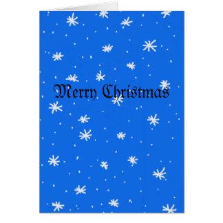 Snow Flakes Card