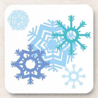 Snow Flakes Coaster