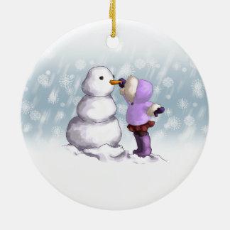 Snow Friend Christmas Ornament