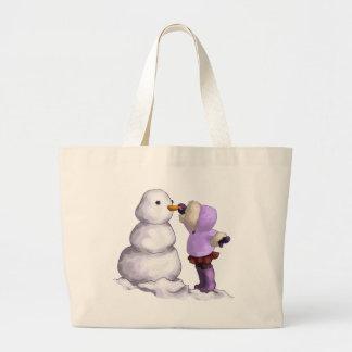 Snow Friend Jumbo Tote Bag