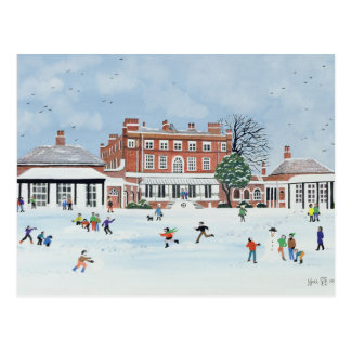 Snow Fun 1991 Postcard