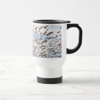 Snow Geese Flock Mug