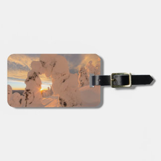 Snow Ghosts In The Whitefish Range Luggage Tag