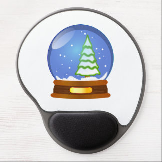 Snow globe clipart gel mouse mat