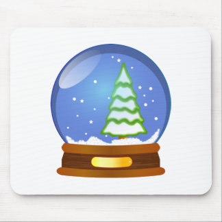 Snow globe clipart mouse pad
