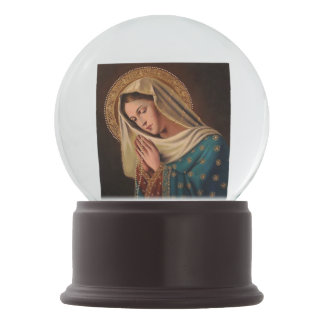 "Snow globe ""Image Ours Lady """