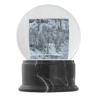 """Snow Globe """"Morning at Yellowstone"""""""