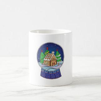 Snow globe morphing mug
