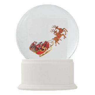 "Snow globe ""Papa Noel and its sleigh "" Snow Globes"