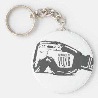 Snow Goggle Key Ring