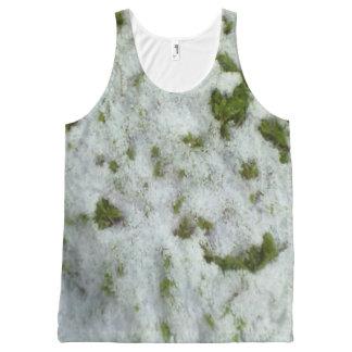 Snow grass All-Over print tank top