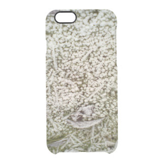 Snow grass clear iPhone 6/6S case