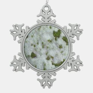Snow grass ornament