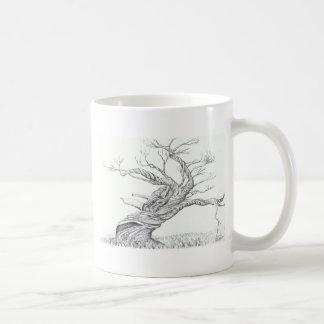 Snow Gum Mt Kosciusko Nat. Park Australia Basic White Mug